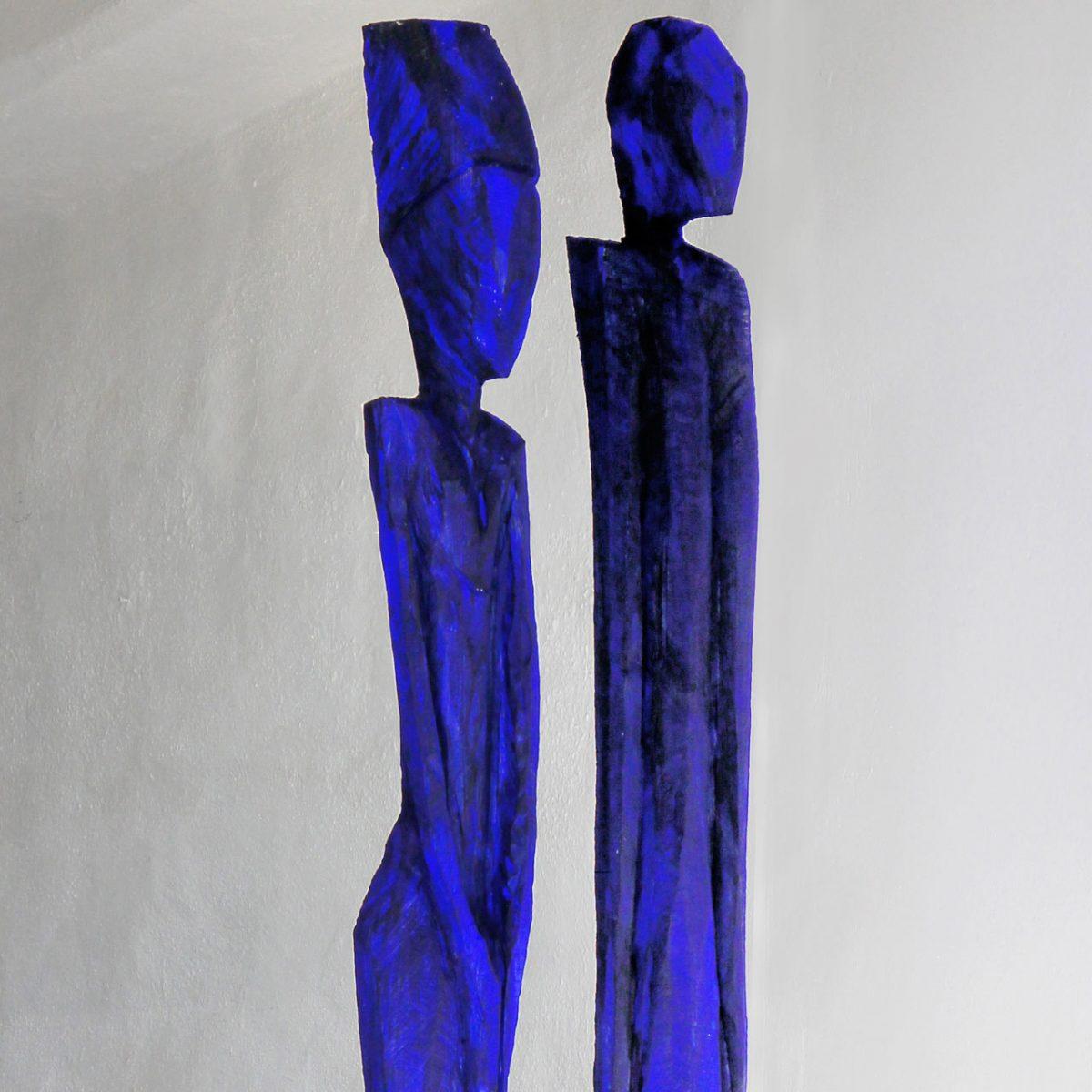 """weiter zur Skulptur """"Blaues Paar"""""""