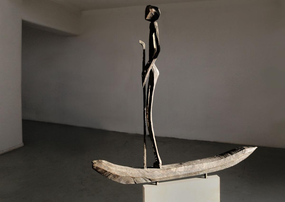 """weiter zur Skulptur """"Der Pate"""""""