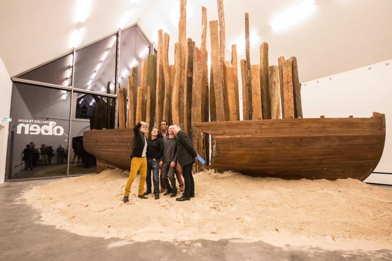 """""""Traumschiff""""-Ausstellung im Kunstraum Potsdam"""